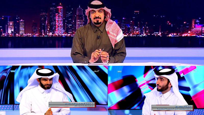 لقاء المدرب أول حمزة الدوسري والمدرب الدكتور عبد الرحمن الحرمي مع حسن الساعي في برنامج بصراحة