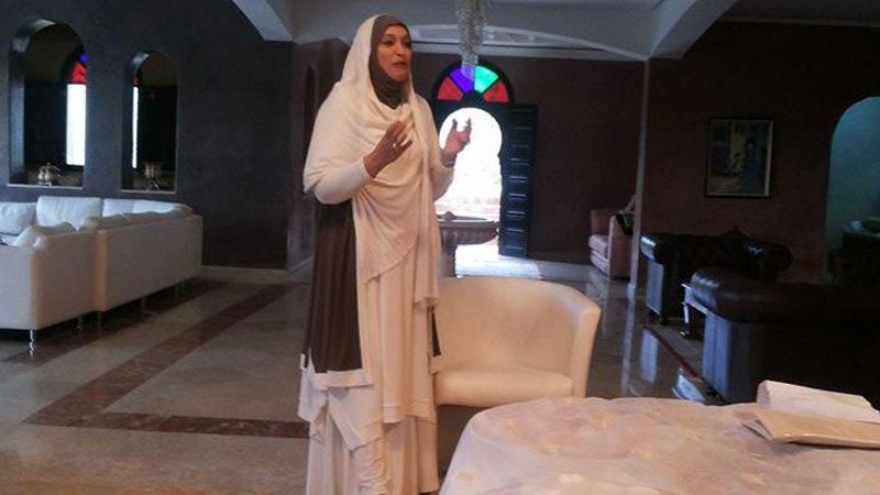 المملكة المغربية - أكادير: أمسية رائعة للمدربة فاطمة بوالنيت بعنوان بالقرآن نحيا
