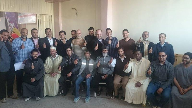 المدرب أول عادل عبادي ضيفاً مميزاً على رابطة العمل الإجتماعي في محاضرتين تدربيتين