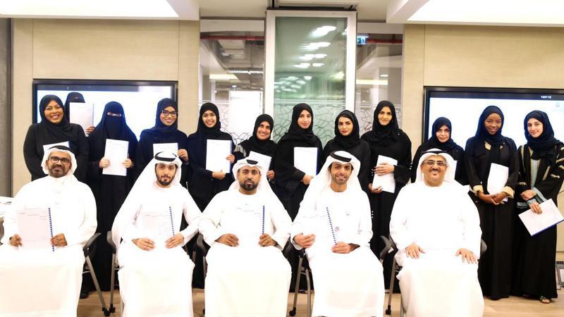 دائرة التعليم والمعرفة في برنامج تدريبي بعنوان أطلق ذكائك العاطفي مع المدرب أول حسين الشاطري