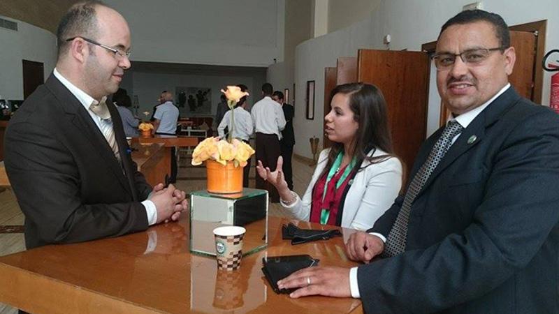 المدرب أول عادل عبادي يشارك في مائدة مستديرة بحضور وزير التشغيل