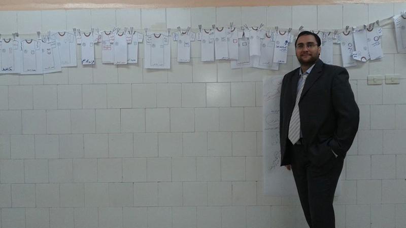 سوريا - حماة: إختتام دورة إدارة العمل التطوعي للمدرب محمد إياد الزعيم