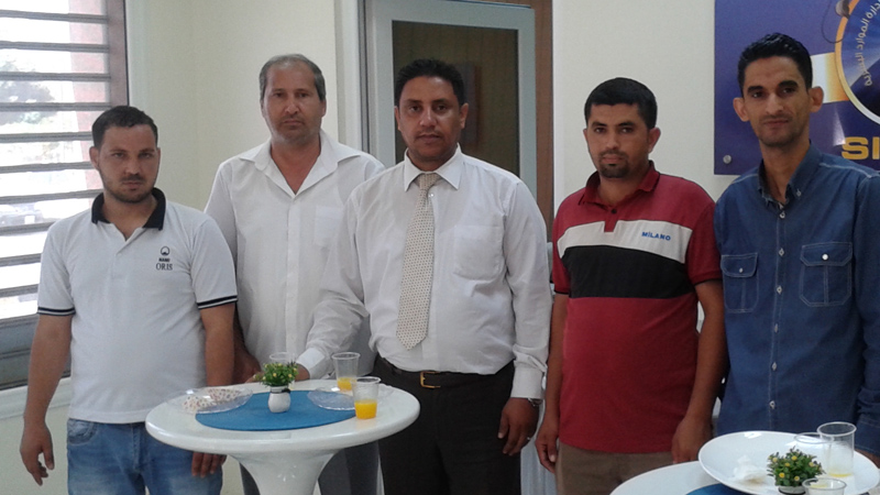 اختتام دورة السلامة والصحة المهنية OSHA للمدرب جمعة محمد سلامة لموظفي EICo