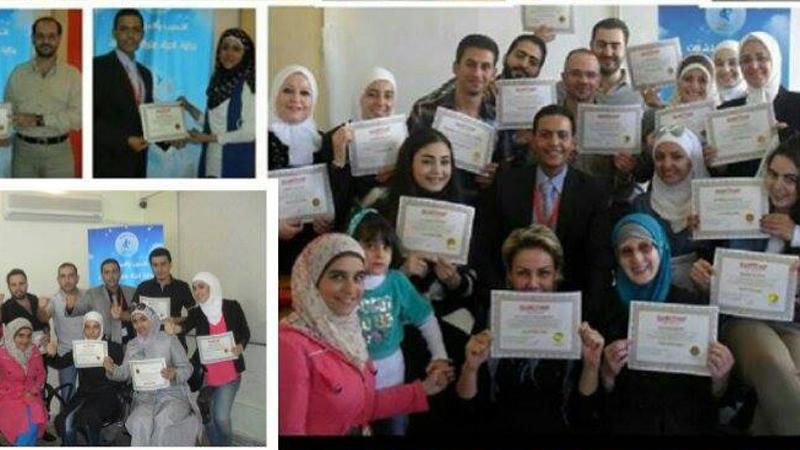 سوريا - دمشق: سلسلة من النجاحات كللت شهر تشرين الأول لعام 2014 مع المدرب طارق السعدي