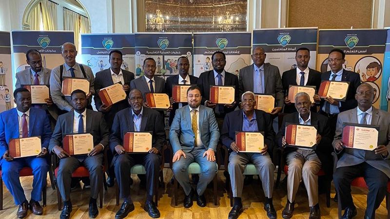 إيلاف ترين قطر تختتم دورة تدريب المدربين TOT لمجموعة من كبار الشخصيات في الخارجية الصومالية