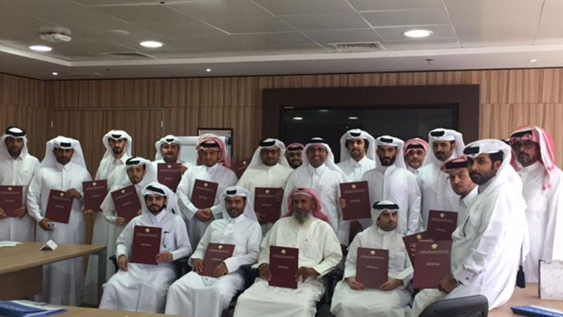 مهارات الاتصال الفعّال دورة تدريبية للمدرب حمد الشمري لصالح معهد الإدارة العامة بوزارة العمل في الدوحة