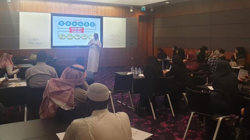 مركز قطر الوطني للمؤتمرات QNCC يستضيف المدرب أول حمزة الدوسري في دورة مهارات الإلقاء