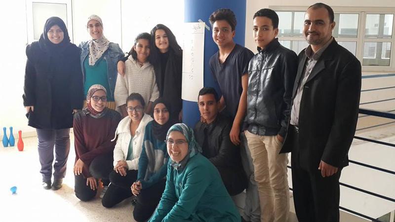 المملكة المغربية - أكادير: إستكمال محاور دبلوم التأهيل القيادي بقيادة المدربة عائشة السهل