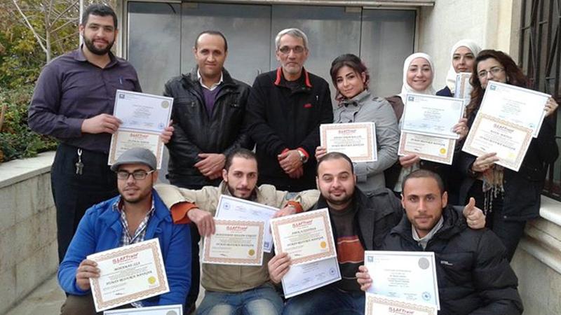 سوريا - دمشق: دورة مدير الموارد البشرية مع المدرب د.محمد عزام القاسم