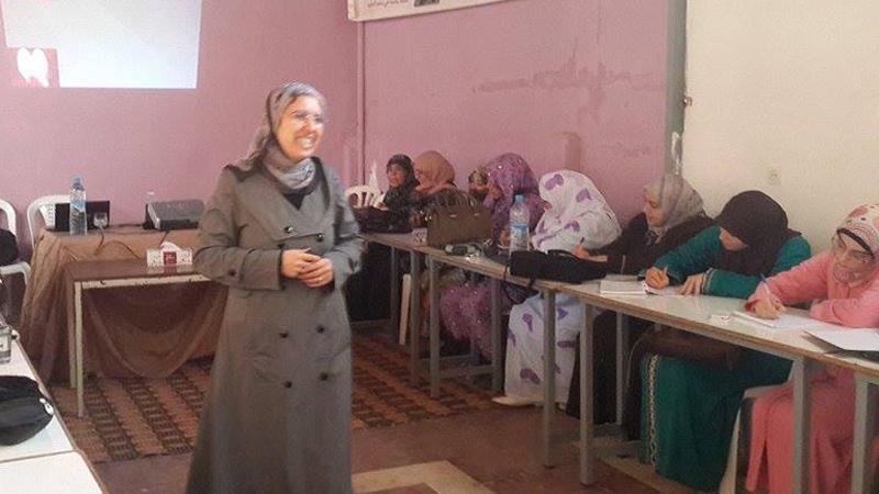 التربية بالحب، مبادئ وسلوك، أمسية مع المدرية نادية ادامغار