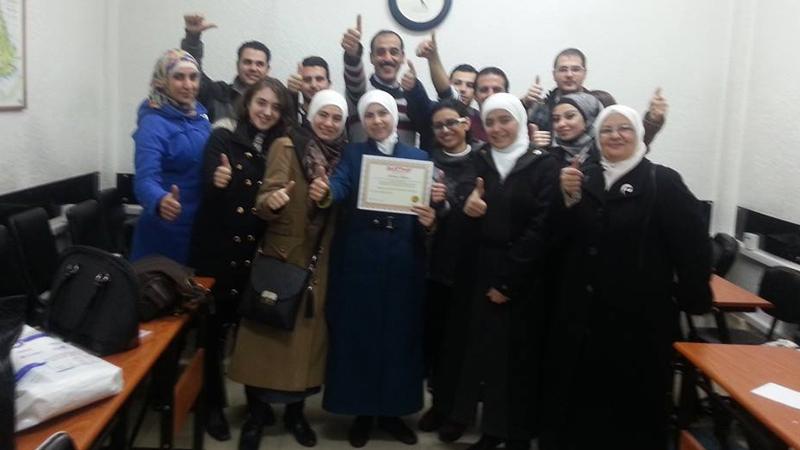 سوريا - دمشق: الإبتسامة سر العطاء مع المدرب فراس صفر