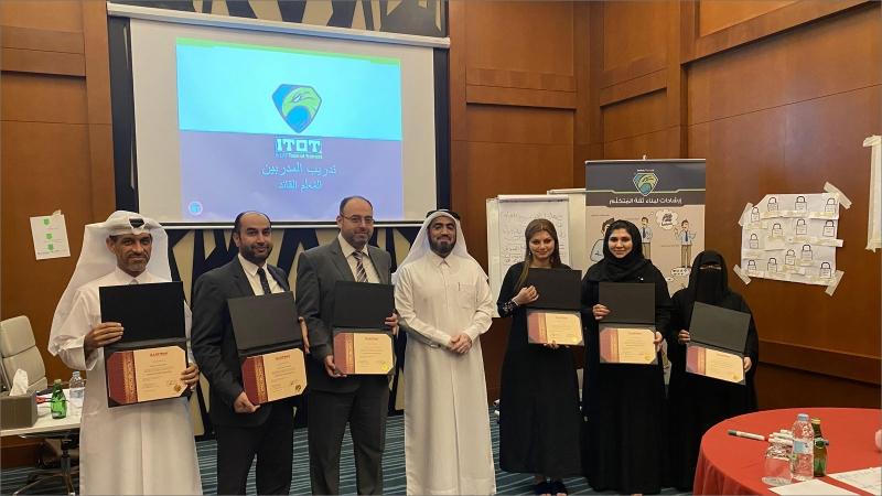 قطر  - الدوحة: نجاح جديد لإيلاف ترين الدوحة، في ختام دورة تدريب المدربين  TOT