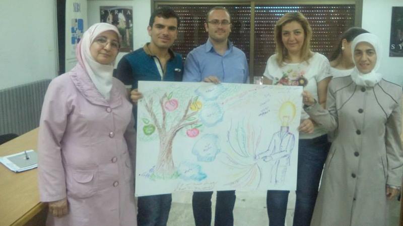 سوريا - دمشق: اختتام دورة المشروعات الصغيرة للمدربة لينا ديب