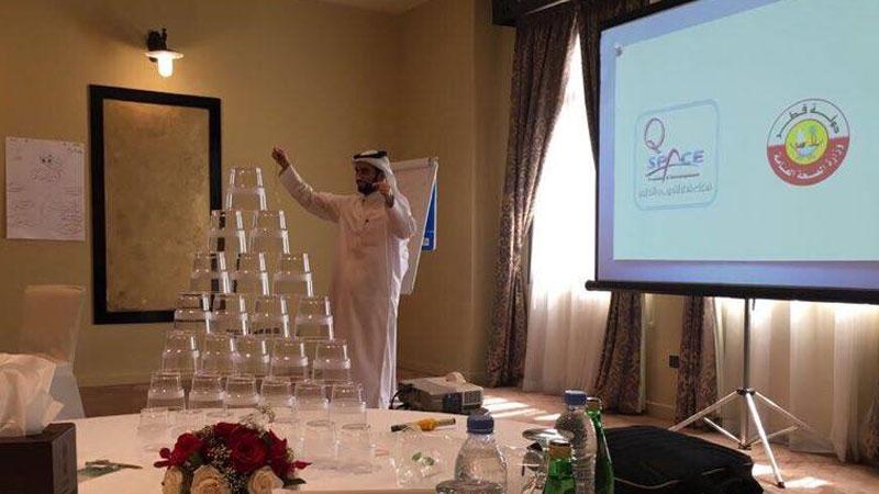 وزارة الصحة تستضيف المدرب أول حمزة الدوسري في دورة العمل الجماعي والاتصال الفعّال