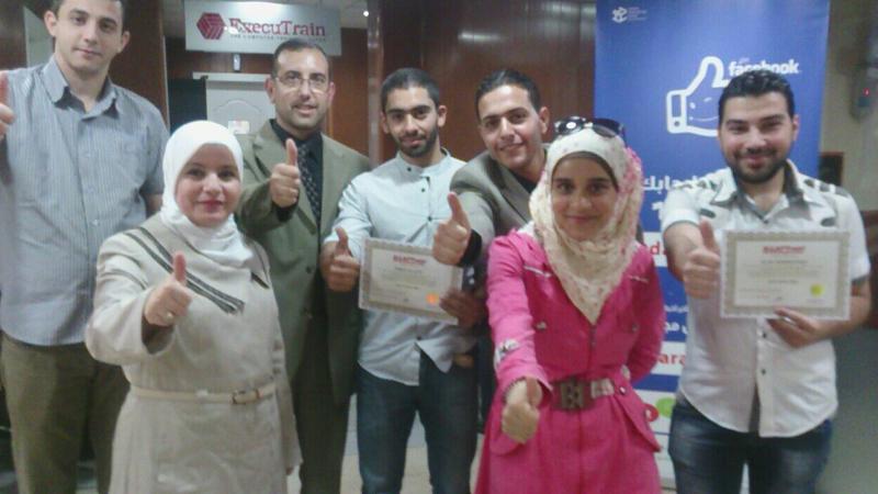 سوريا - دمشق - اختتام دورة دبلوم البرمجة اللغوية العصبية بقيادة طارق السعدي