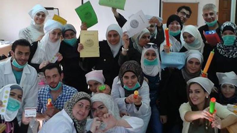 سورية - دمشق: اختتام دورة مركز لغة الجسد الطبي للمدربة بروج عمر