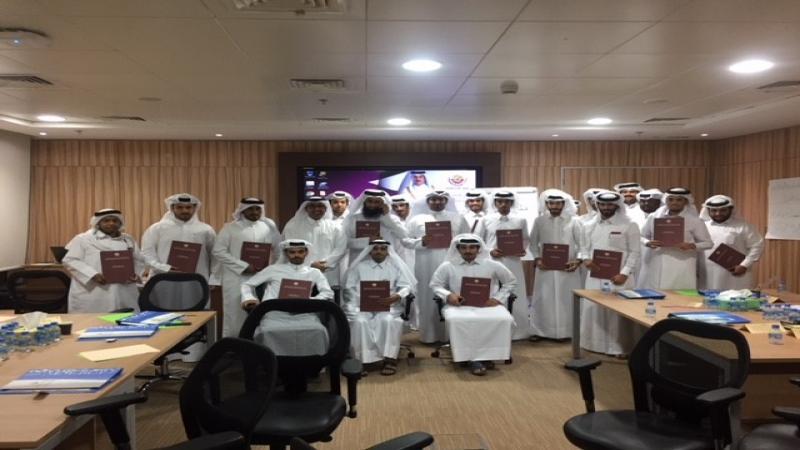دورة مهارات العمل الجماعي بقيادة المدرب أول حمد ساكت الشمري