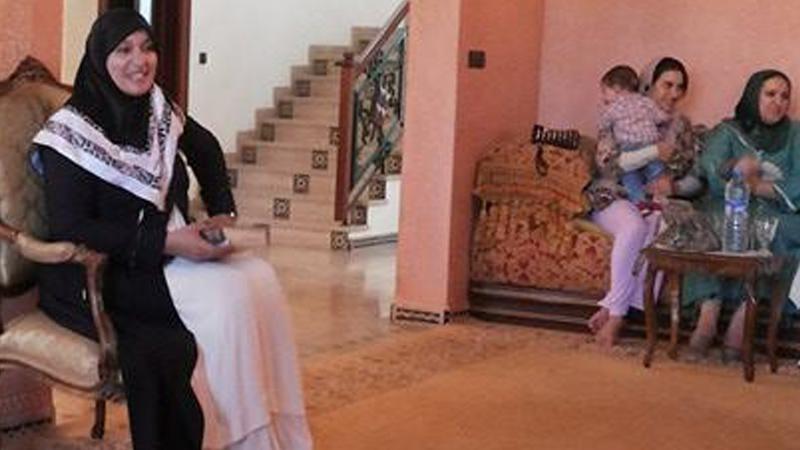 المملكة المغربية - أكادير: أمسية رائعة للمدربة فاطمة بوالنيت في طرق حفظ القرآن