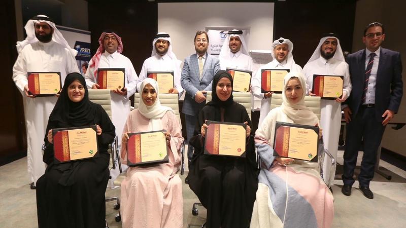 إيلاف ترين الدوحة تختتم دورة ممارس معتمد في الذكاء العاطفي مع الدكتور الاستشاري محمد بدرة