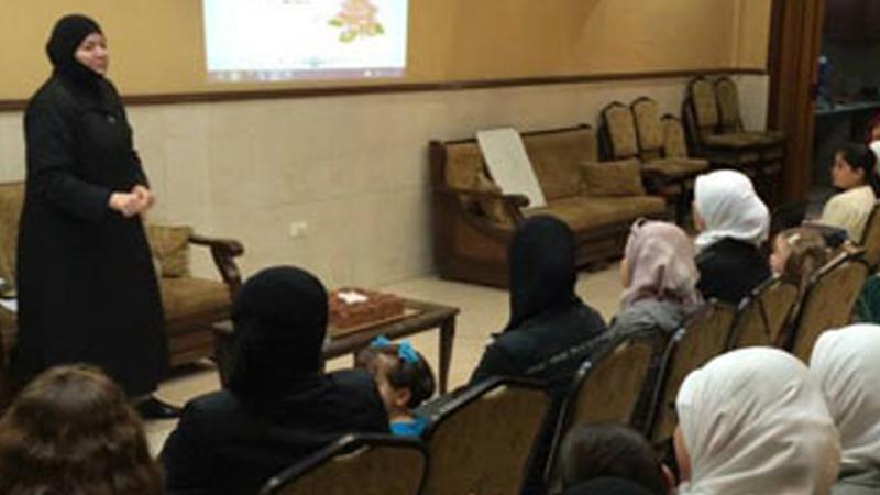 سوريا - دمشق: مهارات التعامل مع المراهقين للمدربة دعاء يونس