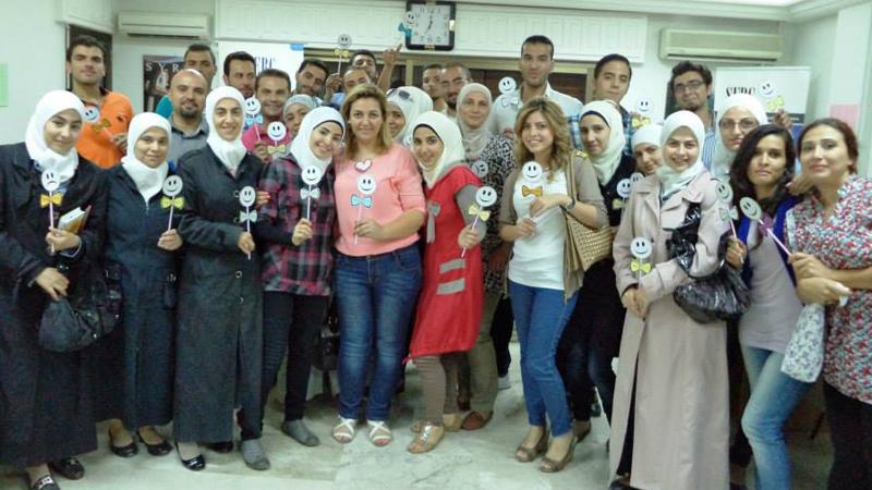 سوريا - دمشق: إنهاء ورشة عمل بعنوان التعامل مع الضغط للمدربة لينا ديب