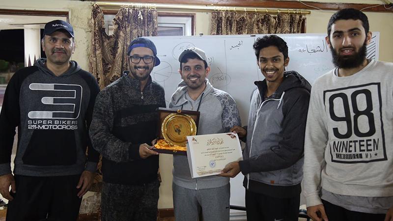 ورشة عمل في مهارات الإلقاء بقيادة المدرب أحمد المالكي