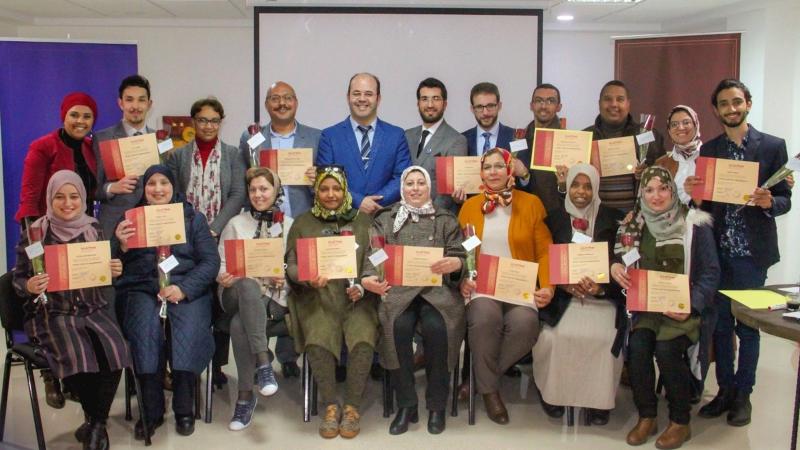 المدرب أول عاد عبادي يختتم دورة دبلوم البرمجة اللغوية العصبية في مدينة وجدة المغربية