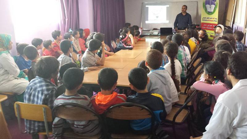 المملكة المغربية - أكادير: لقاء للمدرب ياسين حول برنامج سوروبان للحساب الذهني