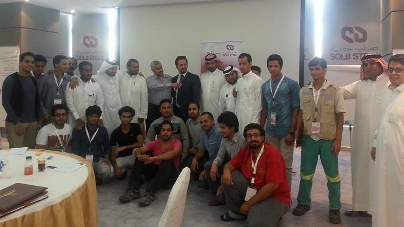 المملكة العربية السعودية - جازان: إنتهاء أعمال دورة الخدمة المتميزة للمدرب مصطفى عبدالله