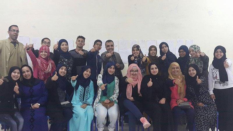 المهارات الحياتية ودورها البارز في حياتنا اليومية بقيادة المدرب عبدالله أدالكاهية والمدربة ناديا أدومغار