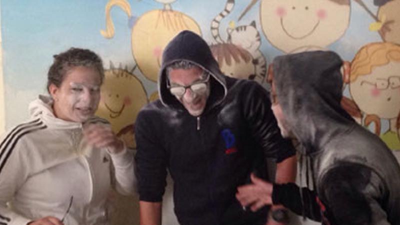 """""""أنا أتحدى الضغوطات""""  دورة تدريبية لمجموعة الهلال الأحمر السوري مع المدرب محمد زياد الوتار"""