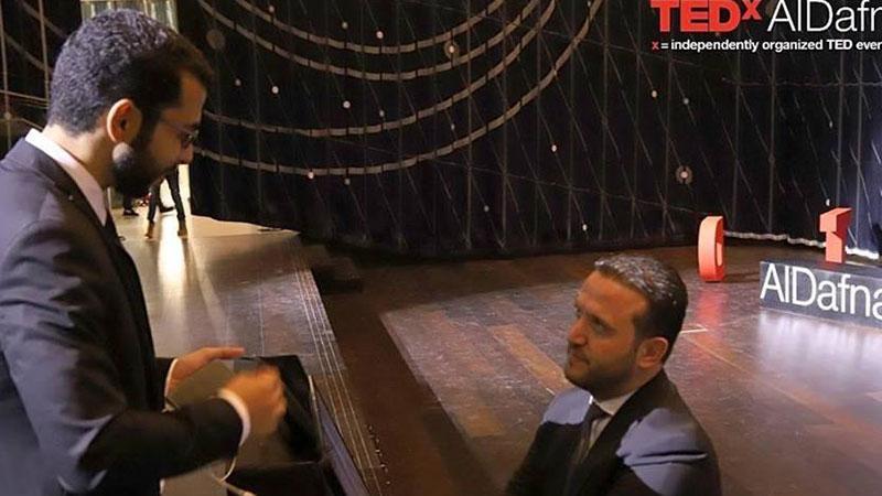 """إنجاز جديد للمدرب عبد الله حارس في مؤتمر """"تيد إكس"""""""