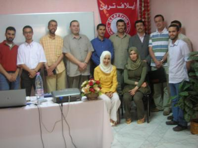 "Algeria - the Capital: ""Thinking Muscles"" Course by the Trainer Samir Kohil."