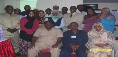 السودان - الخرطوم: ختام دورة ممارس في البرمجة اللغوية العصبية