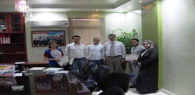 سوريا – حمص: دورة الأمن الصناعي والسلامة المهنية في المدن الصناعية للمدرب أحمد خير السعدي