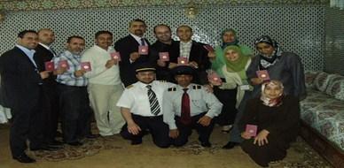 المغرب-  مكناس: الرحلة رقم 777 للطيران السريع تحط في مكناس في دورة الممارس