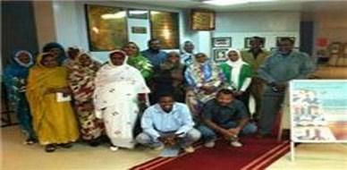 السودان - الخرطوم: مجموعة من المدربين الجدد يقيمون أول ورشة تدريبية لهم
