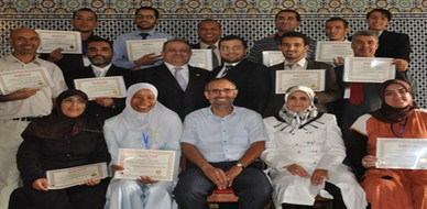 Morocco-Meknas: ILLAFTrain certified trainers have passed the colkium