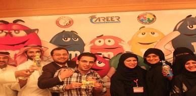 قطر - الدوحة: حبات M&M  تتراقص بمتعة عالية في دوحة الخير