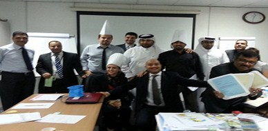 Qatar - Doha: Closure of the management correspondence skills for trainer Hisham Zaki