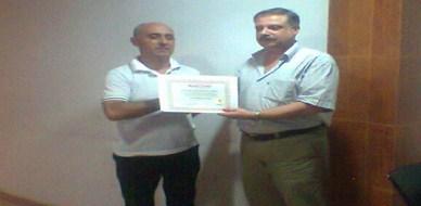 سوريا - اللاذقية: اختتام دورة ممارس البرمجة اللغوية العصبية للمدرب الدكتور محمد سعد الدين بنشي