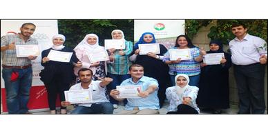 """سوريا - دمشق: اختتام فعاليات دورة """"دبلوم التنويم الإيحائي"""" للمدرب أحمد خير السعدي"""