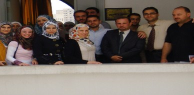 """سوريا - حماة: اختتام  دورة """"التاء التكعيبية"""" في ميناء مجلس مدينة حماة للمدرب  د.محمد اياد الزعيم"""