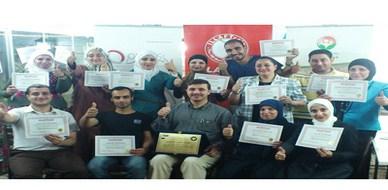 """سوريا - دمشق: اختتام دورة """"ممارس في البرمجة اللغوية العصبية"""" للمدرب أحمد خير السعدي"""