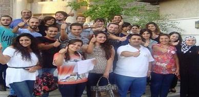 """سوريا - دمشق: اختتام دورة مميزة حول """"إدارة المشاريع الصغيرة"""" للمدربة لينا ديب"""