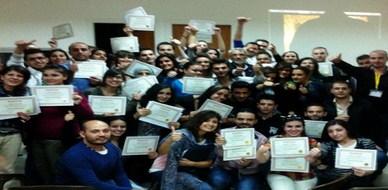 """سوريا - دمشق: اختتام دورة مميزة حول """" لغة الجسد""""  للمدرب همام هندي"""