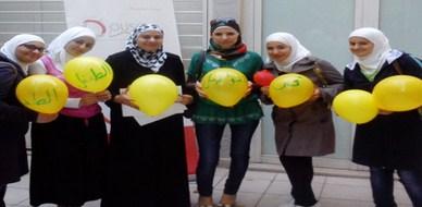 """سوريا - دمشق: اختتام دورة """"التواصل مع الطفل"""" للمدربة  أسماء التنبكجي"""