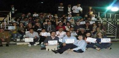 سوريا - اللاذقية : اختتام دورة لغة الجسد ...لشو الحكي ..!؟