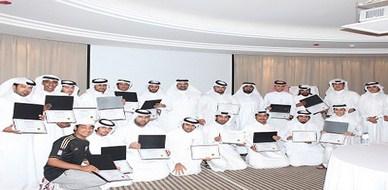 """قطر - الدوحة: أولى دورات مشروع ذخر """"بناء فرق عمل منتجة وفعالة"""" للمدرب حسين حبيب السيد"""