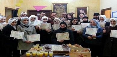 سوريا - دمشق: إنتهاء دورة قانون الجذب وأسرار النجاح مع المدرب الخبير أحمد خير السعدي